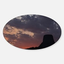 Towering Sunset Decal