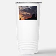 Towering Sunset Travel Mug