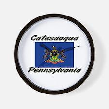 Catasauqua Pennsylvania Wall Clock