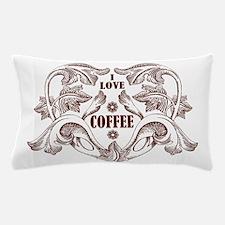 Heart coffee Pillow Case