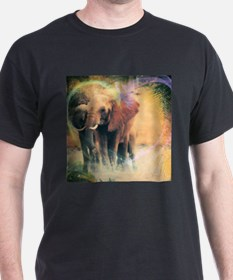 Elephant Dream Digital Art T-Shirt