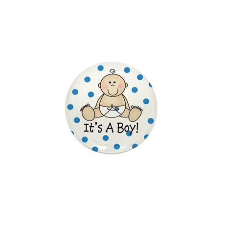 It's a Boy Baby Mini Button (100 pack)