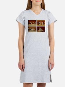 Giraffe Collage Women's Nightshirt