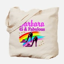 DAZZLING 45TH Tote Bag