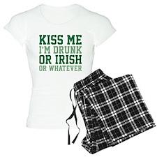 Kiss Me I'm Drunk Or Irish Pajamas