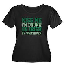 Kiss Me I'm Drunk Or Irish T