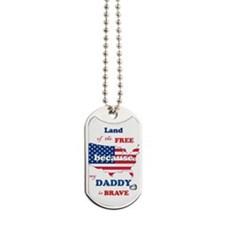 Mil Child Dad- Dog Tags