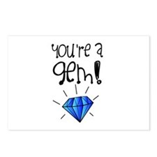 You're a Gem Postcards (Package of 8)
