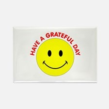 Grateful Day Rectangle Magnet