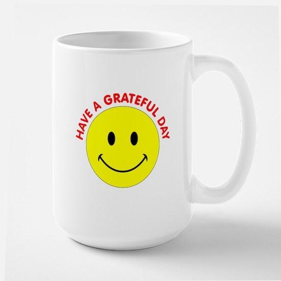 Grateful Day Large Mug