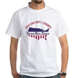 Auto racing Mens Classic White T-Shirts