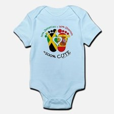 Jamaican Spanish Baby Body Suit