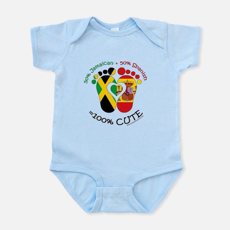 Jamaican Spanish Baby Body Suit