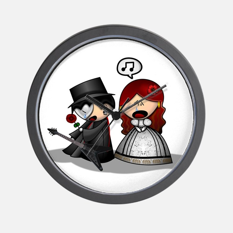 The Phantom Of The Opera Wall Clock
