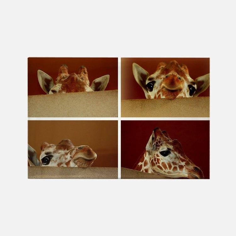 Giraffe Collage Magnets