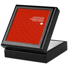 Cute Citizenship Keepsake Box