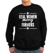 Real Women Marry Farmers Jumper Sweater