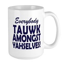 SNL Coffee Talk Amongst Yourselves Mugs