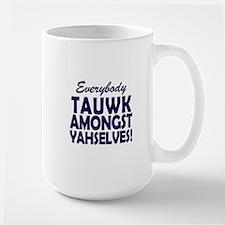 SNL Coffee Talk Amongst Yourselves Mugs