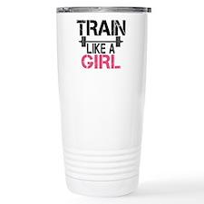 Train Like A Girl Travel Mug