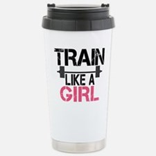 Train Like A Girl Travel Mug