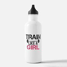 Train Like A Girl Sports Water Bottle