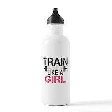 Train Like A Girl Water Bottle