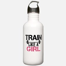 Train Like A Girl Water Bottle