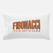 Fibonacci It's as Easy as 1, 1, 2, 3 Pillow Case