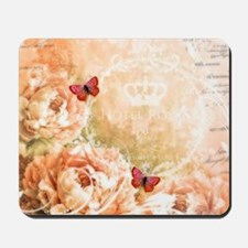 Soft floral Mousepad