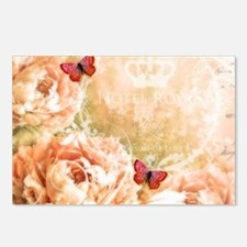 Soft floral Postcards (Package of 8)