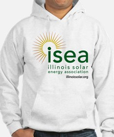ISEA Logo for white with website Hoodie