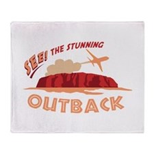 See! The Stunning Outback Throw Blanket