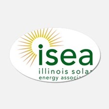 ISEA Logo for white with website Wall Decal