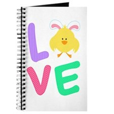 Cute I love easter bunny Journal