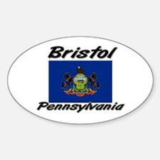 Bristol Pennsylvania Oval Decal