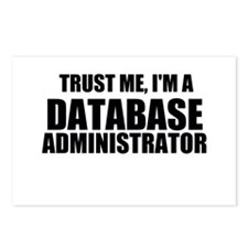 Trust Me, I'm A Database Administrator Postcards (
