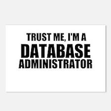 Trust Me, I'm A Database Administrator Postcards (