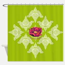 Bohemian Lotus Shower Curtain