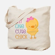 I'm One Cute Chick Tote Bag