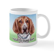 English Foxhounds Rock Mug