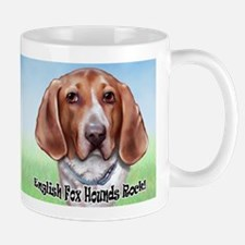 English Foxhounds Rock Mug