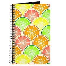 Citrus Fruit Pattern Journal