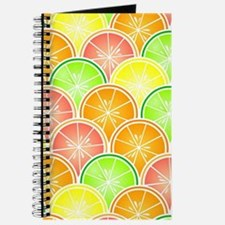 Citrus Fruit Pattern Journal