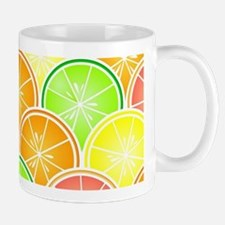 Citrus Fruit Pattern Mug