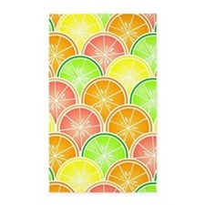 Citrus Fruit Pattern Area Rug