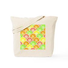 Citrus Fruit Pattern Tote Bag