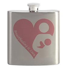 Breastfeeding is Love Flask