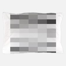 shades of gray Pillow Case