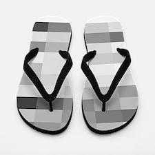 shades of gray Flip Flops